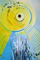 """Psychedelic Sun """"La manifestación de la mente"""" 180x120 Acrílico s/Lienzo"""